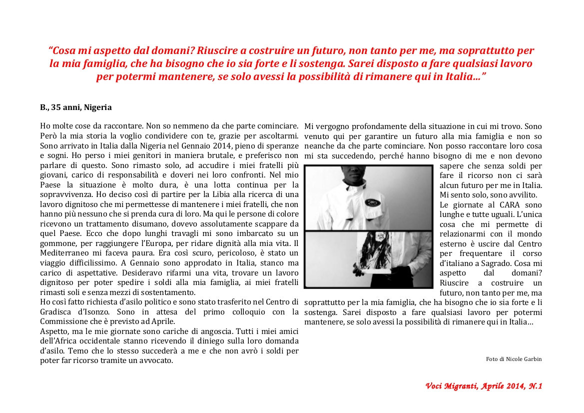 "Newsletter ""Voci Migranti"" pag 03"