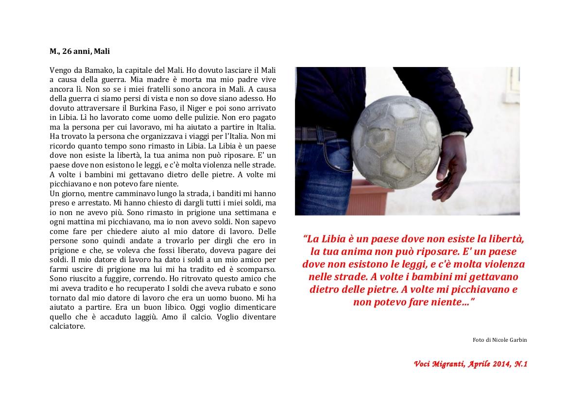 "Newsletter ""Voci Migranti"" pag 04"
