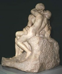 Rodin - Il bacio (Londra, The Tate Gallery, 1904).