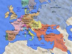L'Europa nel 1815.