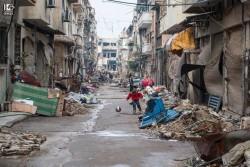 Syria 2013. Foto di Sebastiano Nino Fezza, Cinereporter  RAI. Fonte facebook.