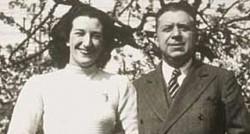 Maria Luisa Spaziani e Eugenio Montale. Fonte google.