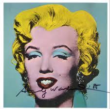 Merilyn Monroe, opera di Andy warhol. fonte: google.it