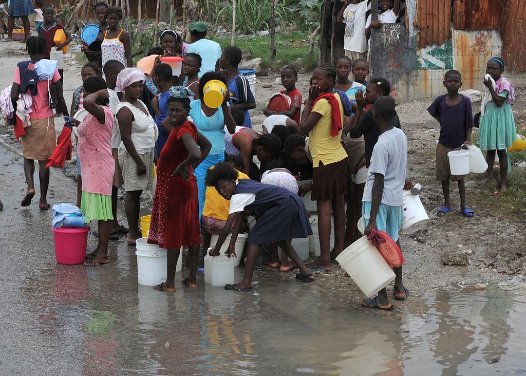 haiti colera acqua crisi umanitaria