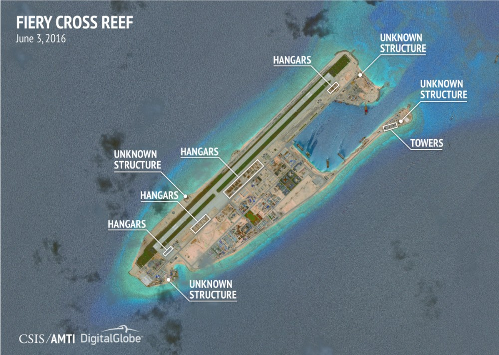 isole mar cinese