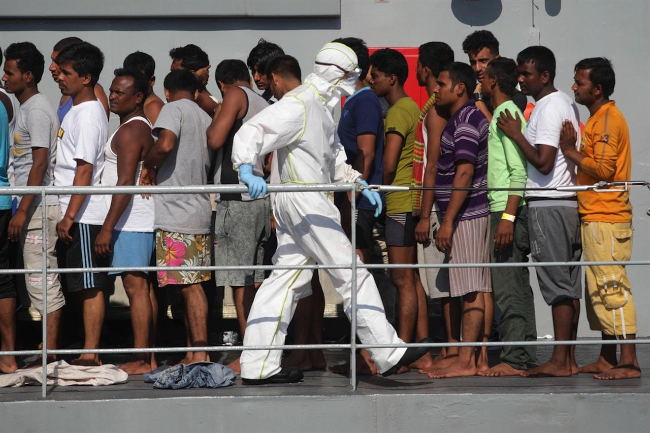 emergenza sanitaria migranti