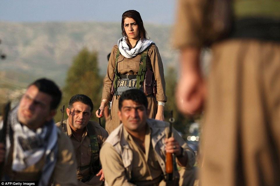 kurdistan peshmerga