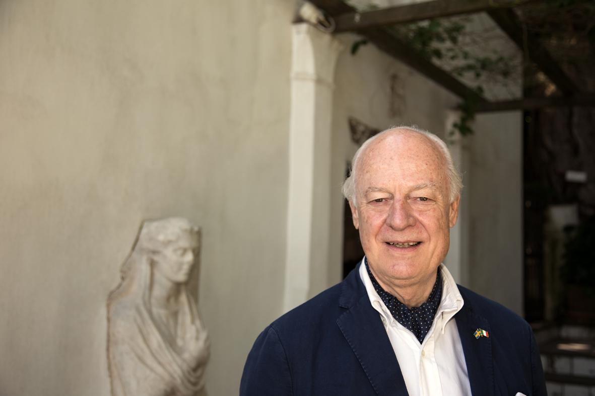 Il console Staffan de Mistura a Villa San Michele ph. Lello Mastroianni (1)