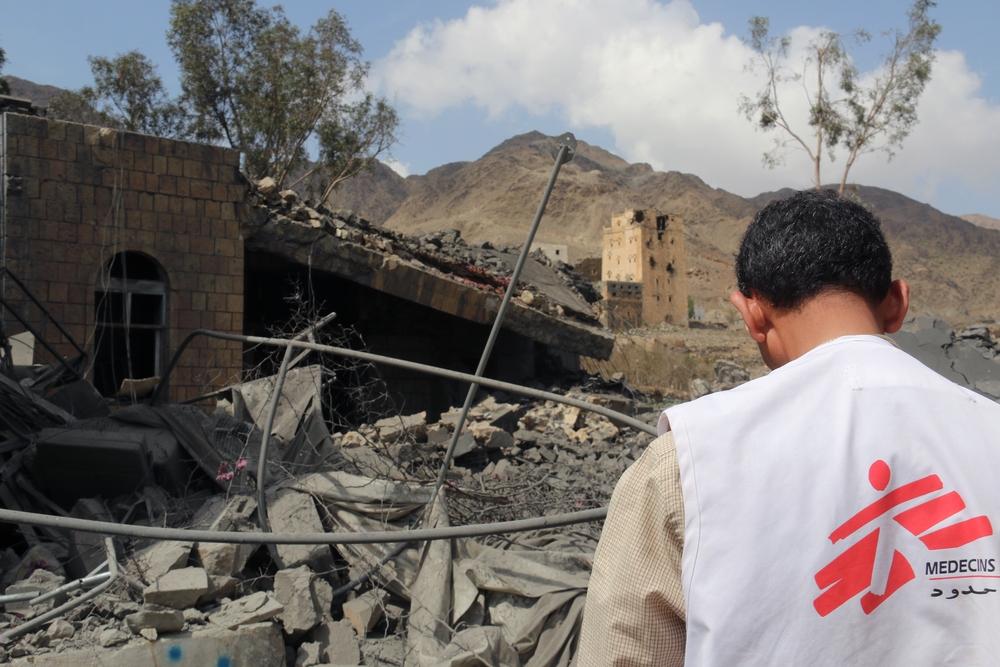 yemen ospedale msf bombe