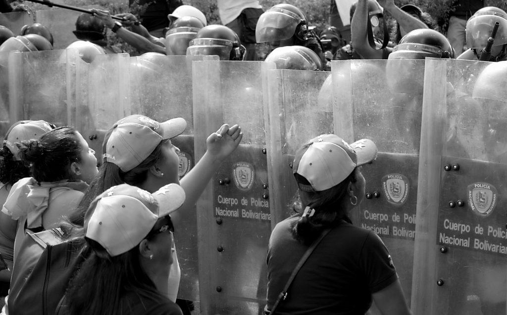 proteste caracas venezuela