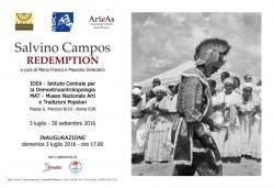 Salvino Campos_REDEMPTION_Roma_03.07-30.09.2016_INVITO