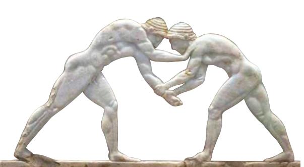 olimpiadi antica grecia incisione
