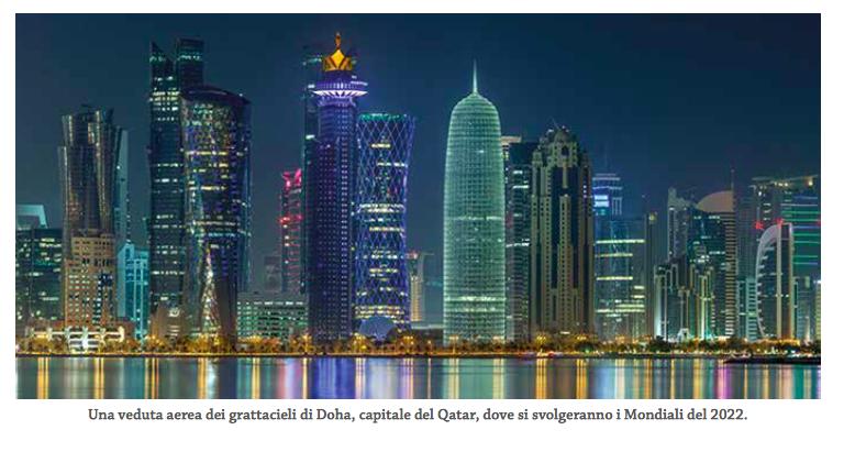 Doha ospiterà i Mondiali di Calcio nel 2022