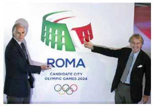 candidatura  per le Olimpiadi a Roma nel 2024