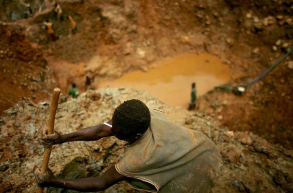 bambino miniere cobalto