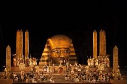 Teatro Greco di Siracusa, Aida di Giuseppe Verdi 12, 19, 26 LUGLIO 2014 ore 20.30. Regia e scene di Enrico Castiglione