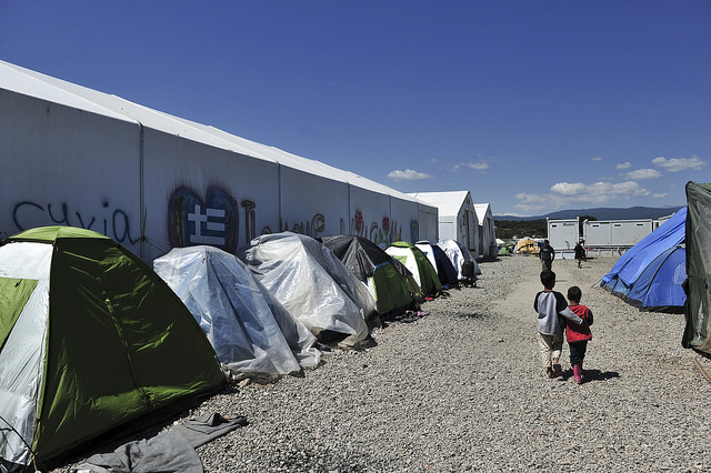 campi profughi tendopoli immigrazione