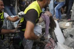 Gaza piange la strage degli innocenti