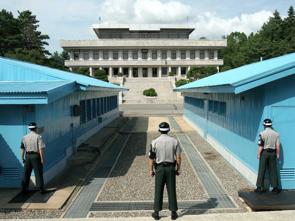 corea del nord e del sud confine